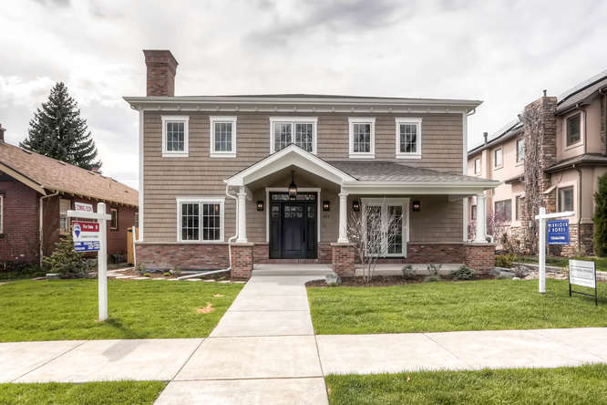 Sold! Custom home in Wash Park