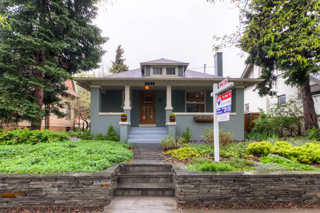 Sold! Spectacular Craftsman bungalow!