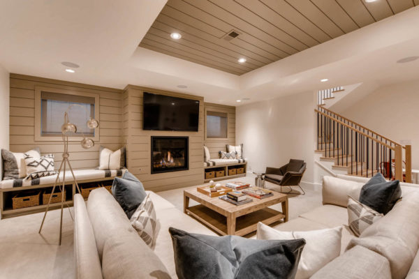 442 S Vine St Denver CO 80209-large-036-34-Lower Level Family Room-1500x1000-72dpi